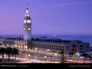 Ferry Building, San Francisco, California. Photo courtesy of Tom Palva Photography.