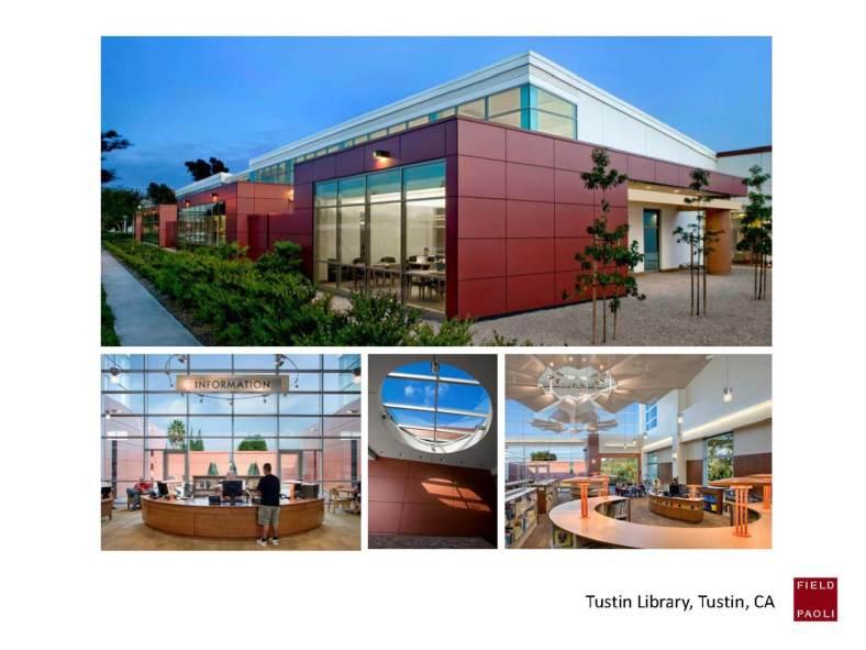 Tustin Library, Tustin, CA.